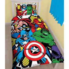 marvel batman duvet cover sets single double king comics spiderman sheets queen size mattress depth black