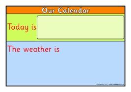 Ks1 Classroom Calendar Display Resources Printables