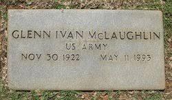 Glenn Ivan McLaughlin (1922-1993) - Find A Grave Memorial
