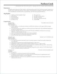 Cook Job Description For Resume Chef Resumes Line – Creer.pro