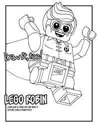 Lego Batman Coloring Pages Fresh Lego Nightwing Coloring Pages Red