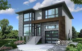 modern house plans. Modern House Plan With 2 Master Suites, 4 Bedrooms, Home Office, Large Kitchen Plans -