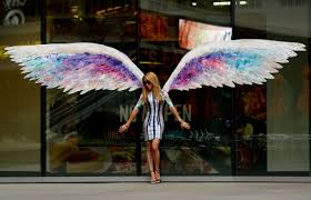 city of angels on angel wings wall art los angeles address with the high feather july 2013