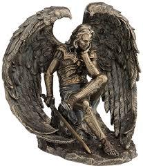 Veronese Design Angels Lucifer Cold Cast Bronze Statue Angel Sculpture Angel