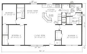 Legacy H4864 16x40Legacy Mobile Home Floor Plans