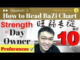 Bazi Profile Strength Chart Read Bazi Strength Of The Day Owner Master Preferences