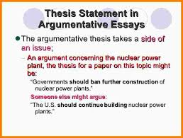 argumentative essay examples a fighting chance thesis 9 argumentative thesis statement statement information