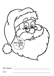 Santa Claus Free Coloring Pages Christmas Rudolph Picture 14832079