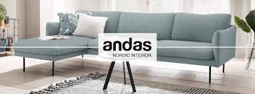 Andas Ecksofa Gondola Scandinavisches Design Und Edle Ausstrahlung Mit Holzbeinen