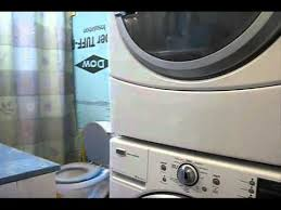 samsung stackable washer and dryer kit. Wonderful Washer Installing A Washer Dryer Stacking Kit With Samsung Stackable Washer And Dryer Kit