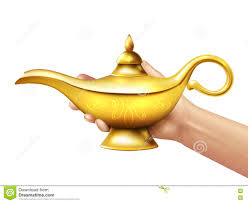 Genie Lamp Vector At Getdrawingscom Free For Personal Use Genie