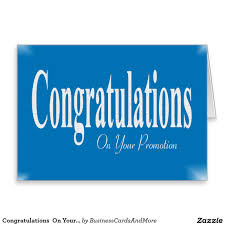 delightful congratulations on promotion pictures congratulations on your promotion card