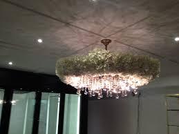 48 round flower chandelier