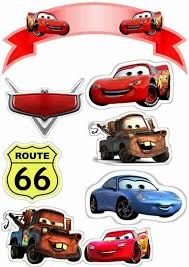 Cars Free Printable Cake Toppers Party Ideas Car Cake Toppers