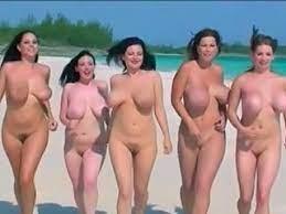 Lesbians Big Boobs Beach