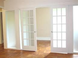interior glass pocket doors interior sliding pocket french doors sliding french frosted glass with modern style