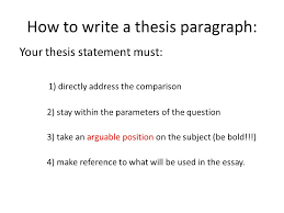 comparative essay tutorial ppt  5 how