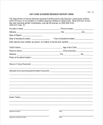 28 Sample Accident Report Forms