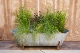 large tub planter