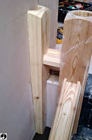 Build Newel Post Fitting A Half Newel Post To The Wall
