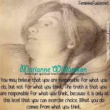 Marianne Williamson Quotes Fascinating Marianne Williamson Quote Think Awesome Quotes By Women