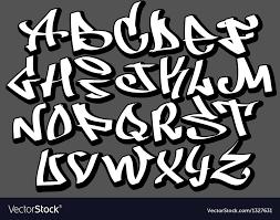 Graffiti Font Free Graffiti Font Alphabet Abc Letters