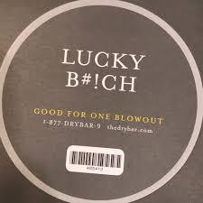 dry bar gift certificate