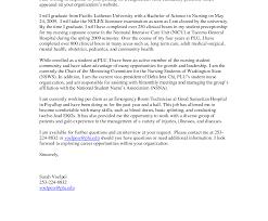 Extraordinary New Grad Nurse Cover Letter Photos Hd Goofyrooster
