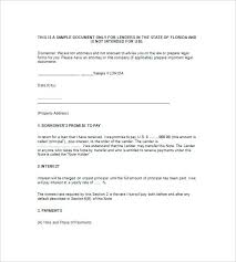 Owner Financing Private Mortgage Note Template Sample Contract