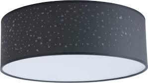 Deckenleuchte Led Led Led Deckenlampe 4 X E27 Schlafzimmer Grau Wei