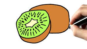 Comment Dessiner Un Kiwi Tutoriel Youtube