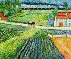 van gogh farm paintings painting ideas