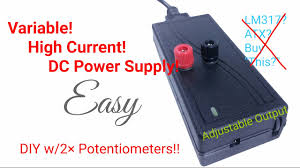 5 easy steps diy adjule dc bench power supply