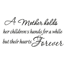 Children Love Quotes Fascinating Amazon A Mother Holds Her Children's Hands For A While But