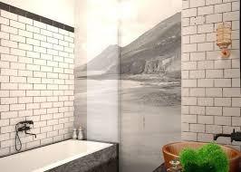 Subway Tile Bathroom Designs Simple Ideas
