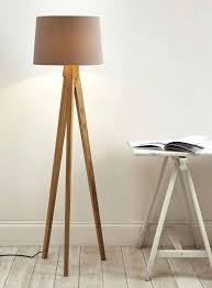 White Wood Tripod Floor Lamp Lamp Design Ideas
