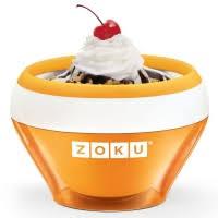 <b>Мороженица Ice Cream Maker</b> Zoku, оранжевая | Купить, цена ...