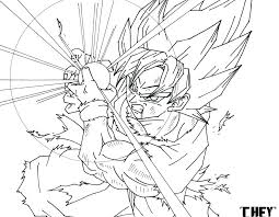 Dragon Ball Z Printable Coloring Pages Alive Dragon Ball Z Coloring