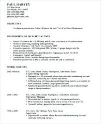 Police Resume Examples Beautiful Sample Resume For Retired Police On
