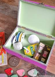 diy kids treasure box hello little home craft paint giftidea