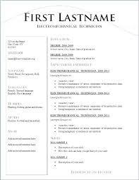 Resume Standard Format Best Standard Resume Format Trenutno