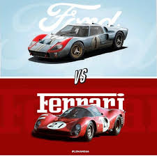 Ford v ferrari (titled le mans '66 in some european territories)4 is a 2019 american sports drama film directed by james mangold and written by jez butterw. Ford Vs Ferrari The Dart
