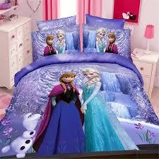disney frozen practice girls bedding set duvet cover bed sheet with regard to queen comforter idea 8