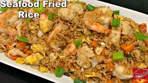 Seafood Fried Rice Recipe - Cooking ...
