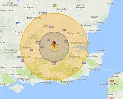 This Fun Map Allows You To See What A Nuclear Detonation