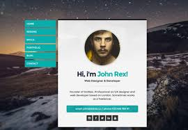 Innovative Ideas Wordpress Resume Theme Free 50 Best Vcard Resume