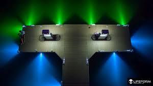 led dock lights. LIFEFORM LED LF5 Underwater Dock Lighting System Installed In McCall Idaho Led Lights Q