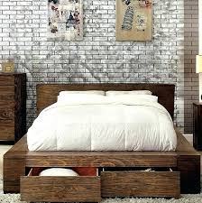 low platform beds with storage. Low Platform Bed Modern Profile With Drawers Furniture Of Urban Queen King Frame Storage California For . Popular Beds I
