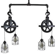 double pendant lighting. Ceiling Lighting · Pendant Lighting. Double Barn Pulley Light S