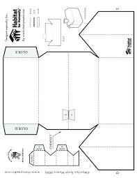 House Template For Kids Theredteadetox Co